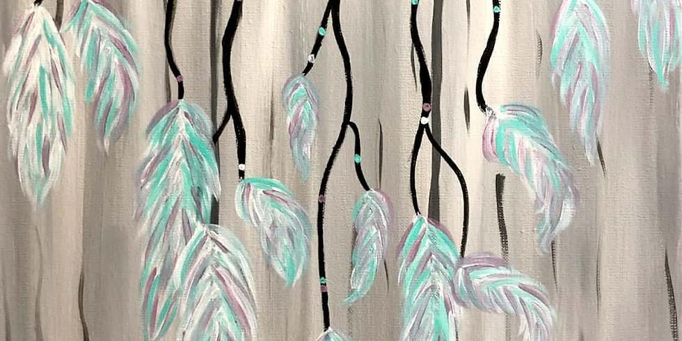 Dream Catcher Paint Nigth at Parrot's