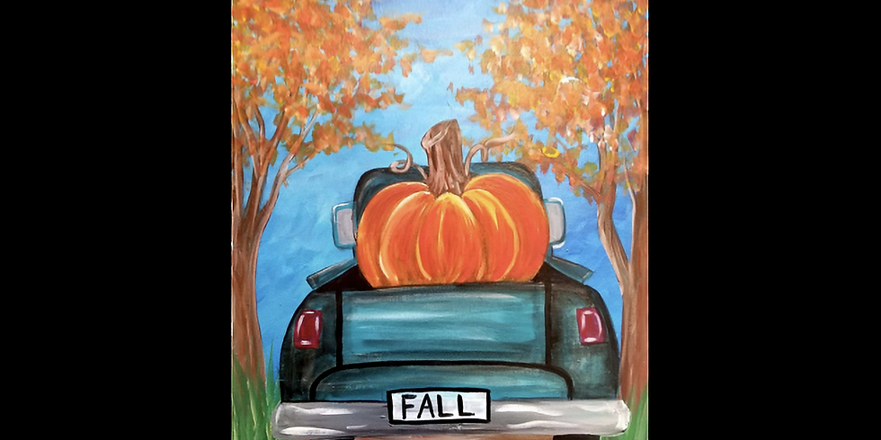 Fall Paint and Sip at Case N Bucks