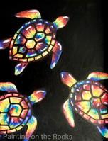 Tie Dye Turtles