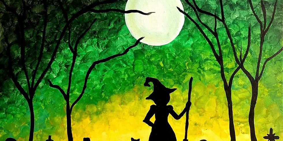Halloween Paint N Sip at Brennan's