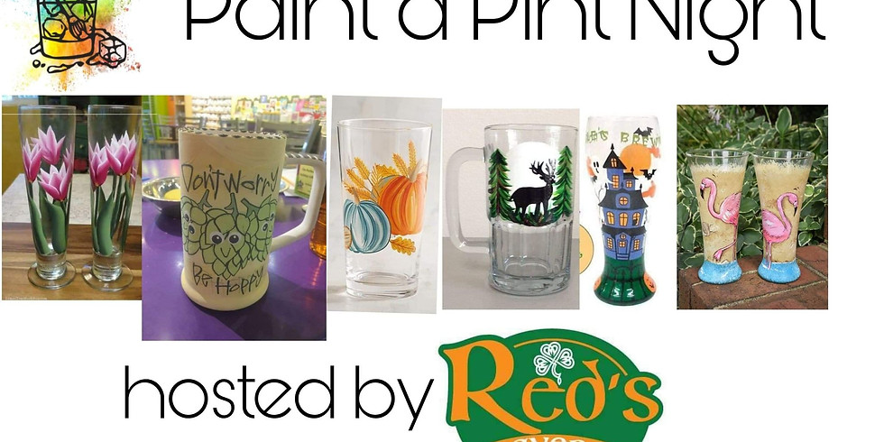 Paint a Pint Night at Red's Tavern