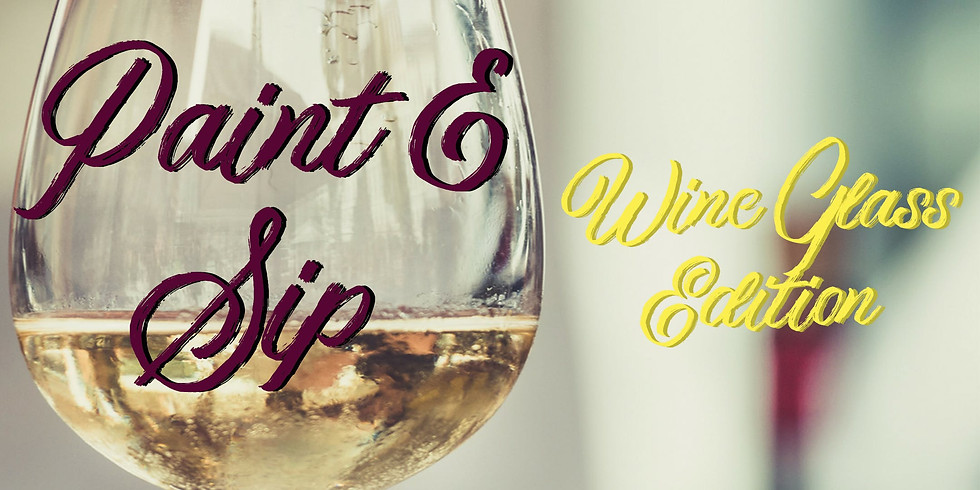 Wine Glass Set Paint Night at North Jeffco Eagles