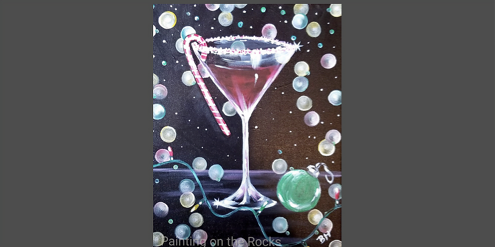 Holiday Spirit Paint and Sip at Parrot's