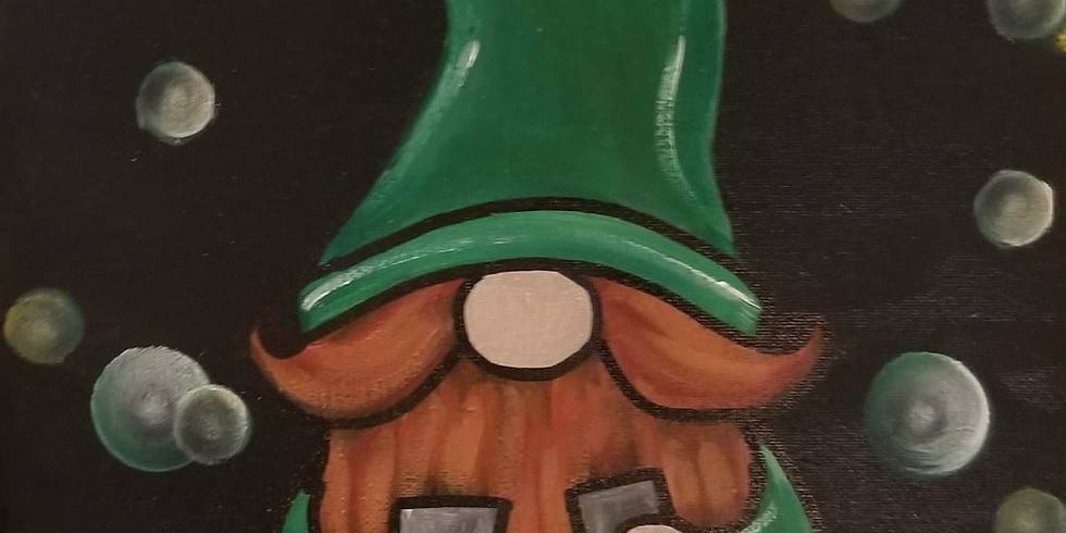 Lucky Gnome Painting at Parrot's