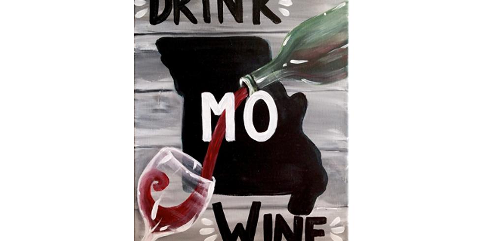 Paint and Sip at Wineology