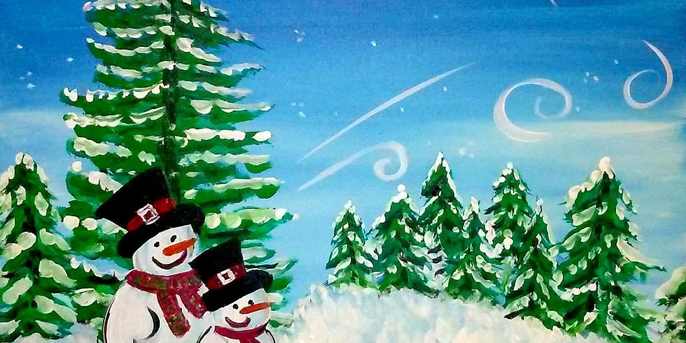 Snowmen Paint Night at North Jeffco Eagles