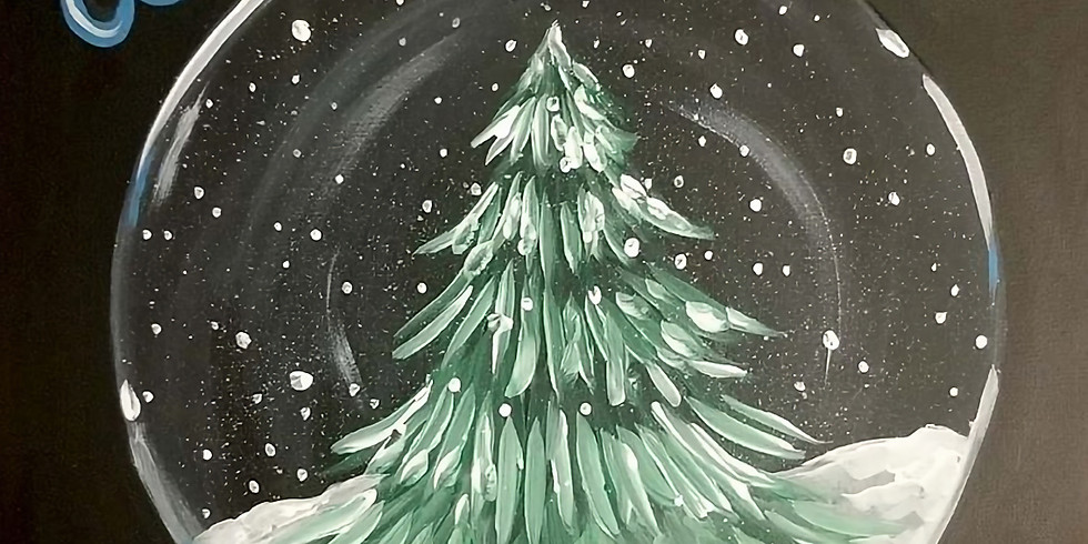 Winter Paint Night at Creations on Main