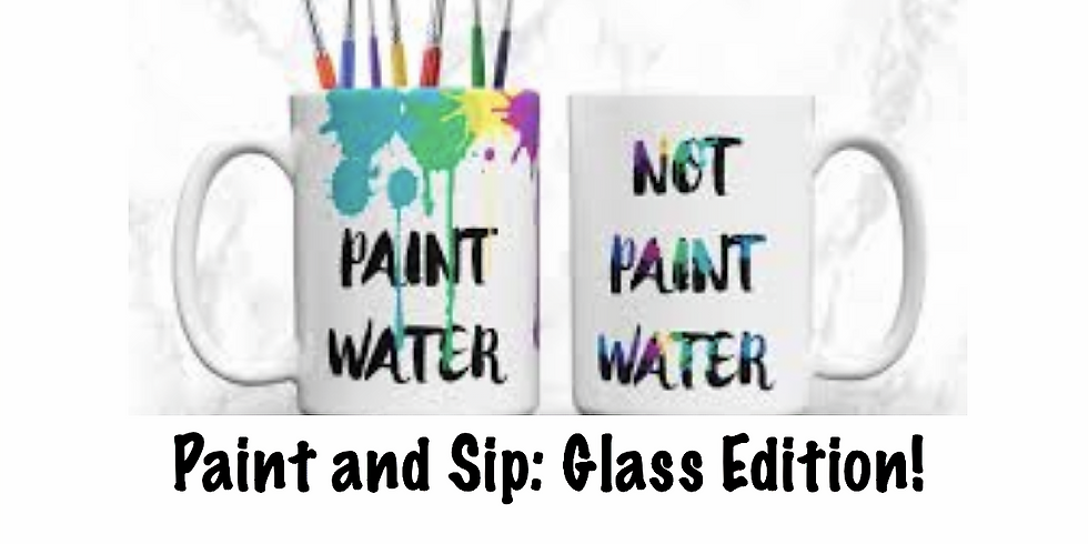 Coffee and Glass Painting at Alpha and Omega