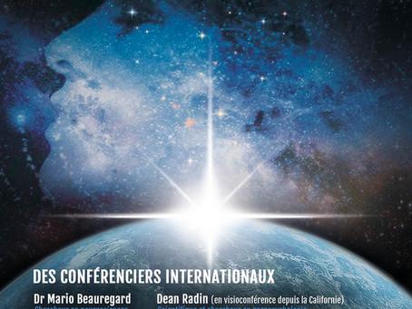 """Colloque """"Pour un monde plus conscient"""" à LYON le 19 Octobre 2019 !"""