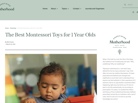 FEATURE: The Best Montessori Toys for 1 Year Olds