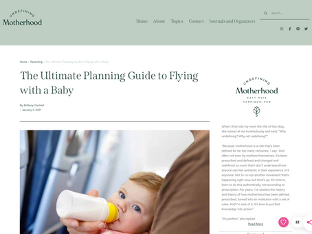 FEATURE: The Ultimate Planning Guide to Flying with a Baby