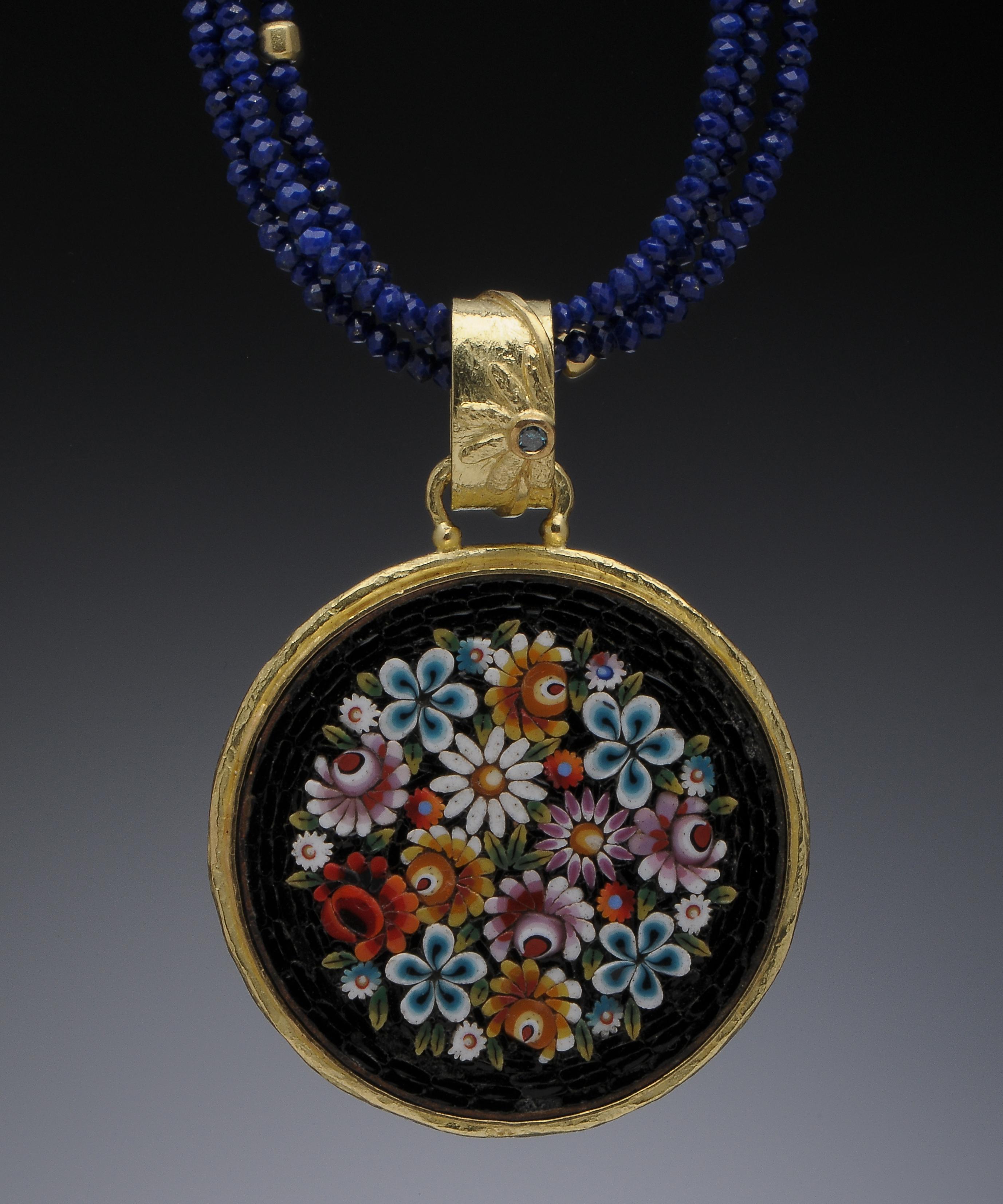 Italian Mosaic Pendant