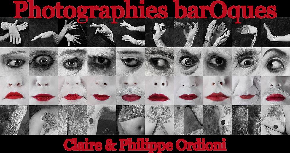 accueil - photographies baroques - Claire et Philippe Ordioni - mozaïque barOque