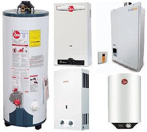 Calentadores a gas Residenciales Ecovagr