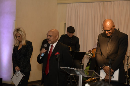 Invocation by Pastor Horace Sheppard