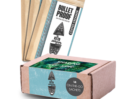 Bullet Proof Coffee Creamer Sachets (14 Sachets per box)