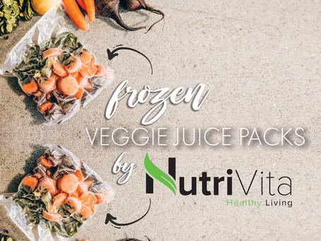 NUTRIVITA FROZEN VEGGIE JUICE PACKS