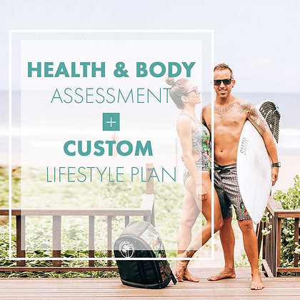 BODY ASSESSMENT & LIFESTYLE PLAN
