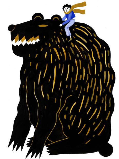 Dream with a bear