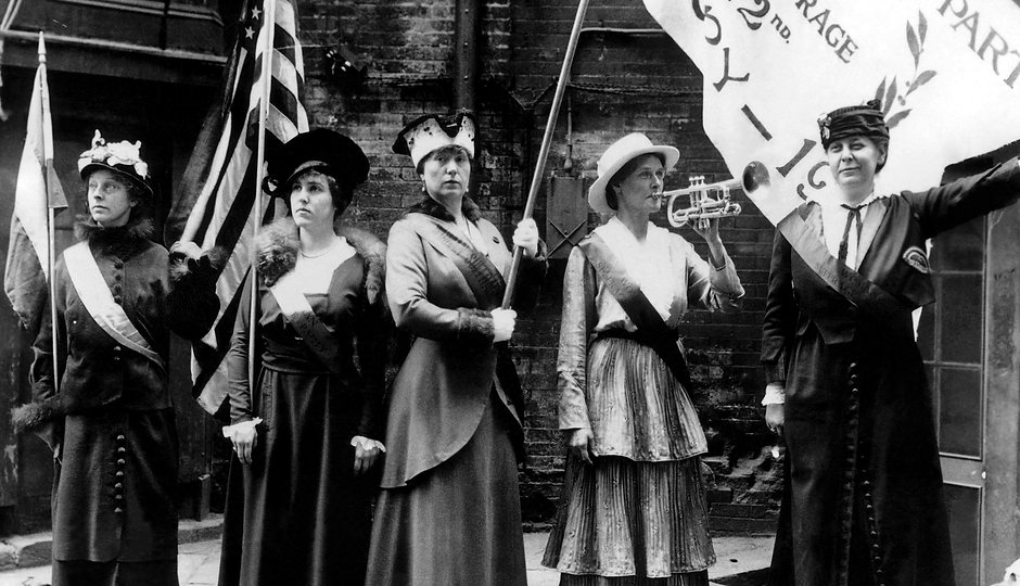 EV1812 - Suffragettes in San Francisco,