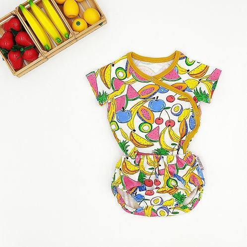 Conjunto Camiseta cubrepañal