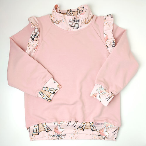 Sudadera Soft Pink
