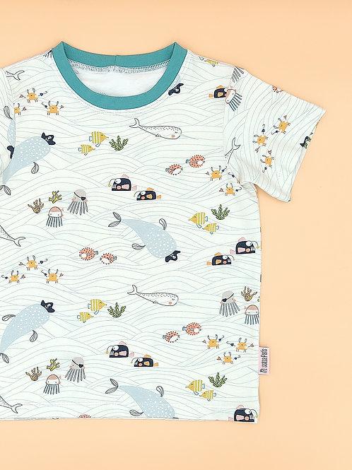 Camiseta Piratas del Mar