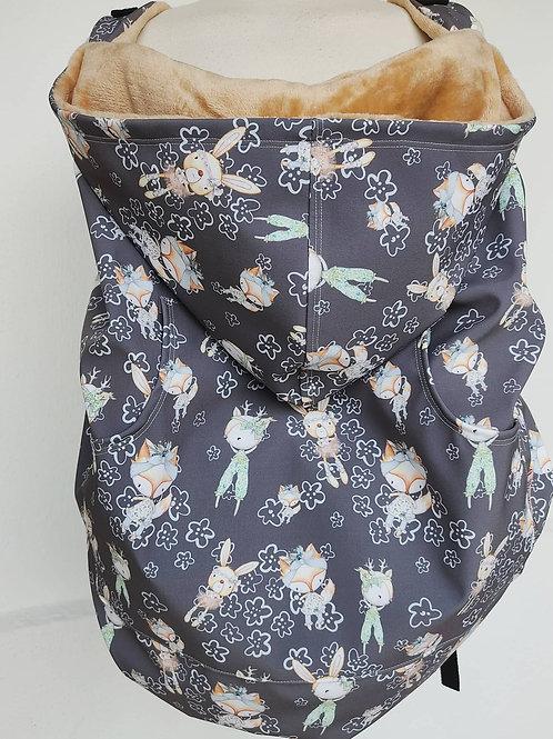 Cobertor de Porteo Bunny Mint