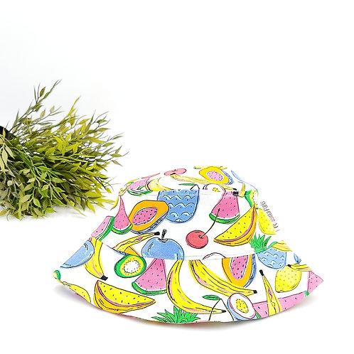Sombrero Pescador Tutifruti White