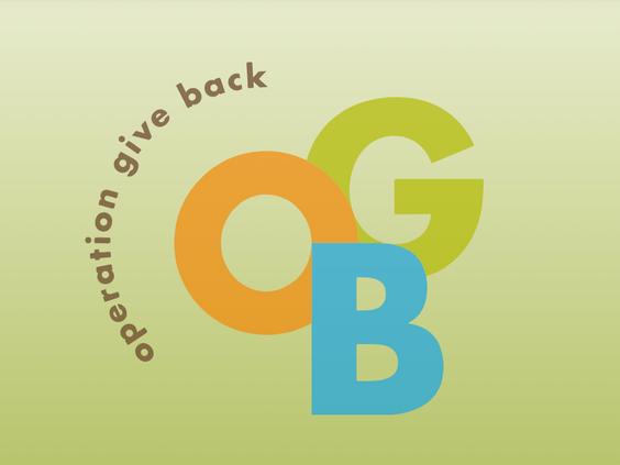 Website Work: Operation Give Back