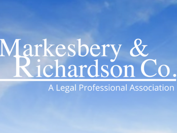 Website & Blog Post Client Work: Markesbery & Richardson