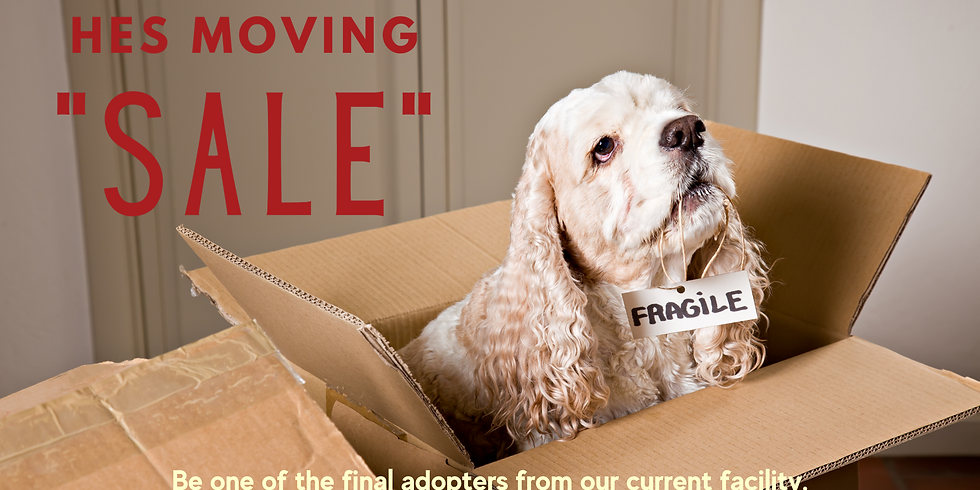"""HES Moving """"SALE"""""""