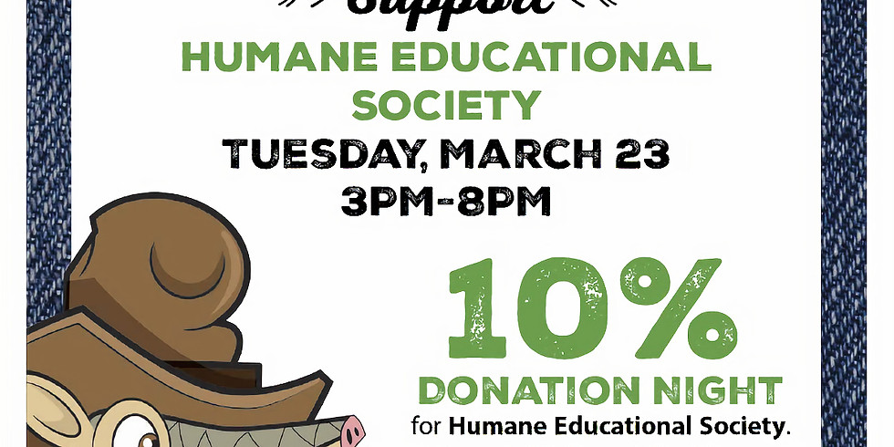 National Puppy Day Dine to Donate at Texas Roadhouse Hixson
