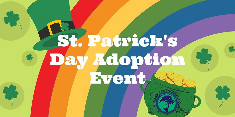 St. Patrick's Day Adoption Event