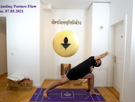 Yogveda Yoga Class from 06.05.2021 and 07.05.2021 added to Video Library.