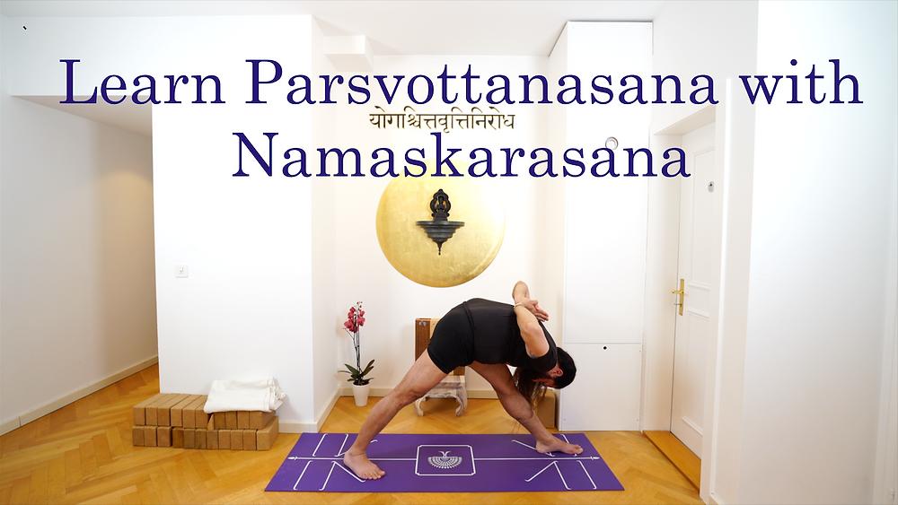 Paschima Namaskarasana - Parsvottanasana