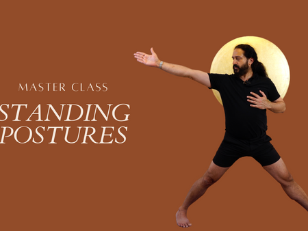 MASTER CLASS STANDING POSTURES. RENT FOR 4.99 CHF