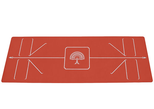"the yoga mat ""prema"" swiss red edition l180 cms w 66 cms"