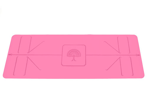 "The Yoga Mat Space Pink ""Akasha"" L 180 cm W 66 cm T"