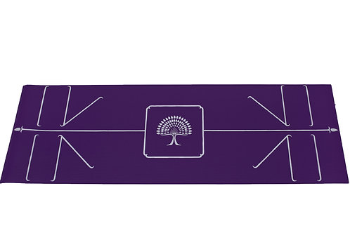 "The Yoga Mat Purple "" Maha Maya""L183 cm W 61 cm T 6.2 mm"