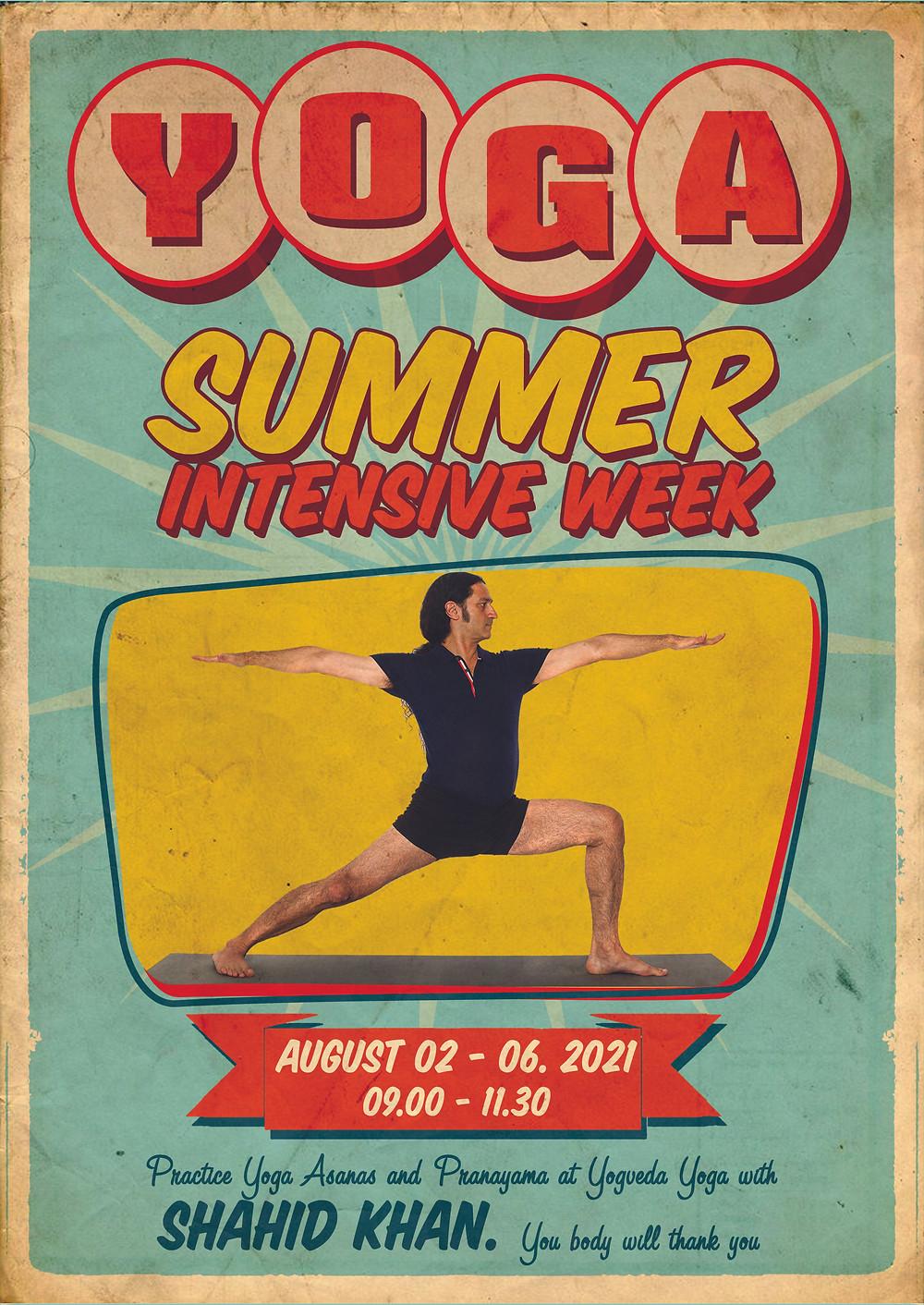 Summer workshop at Yogveda Yoga