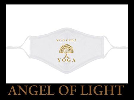 New Yogveda Yoga Covid protection face masks.