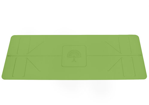 "The Yoga Mat Pro  green ""Jala"" L180 cms W 66 cms T 4 mm"