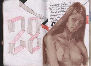 Graham Smith Sketchbook 28- 101