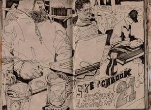 Graham Smith Sketchbook 28- 147