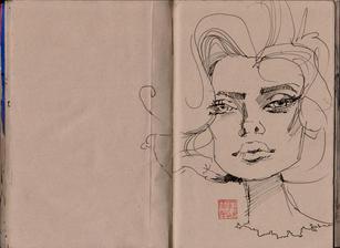 Graham Smith Sketchbook 28- 106