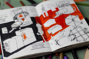 sketchbook 40 3107