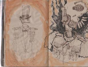 Graham Smith Sketchbook 28- 137