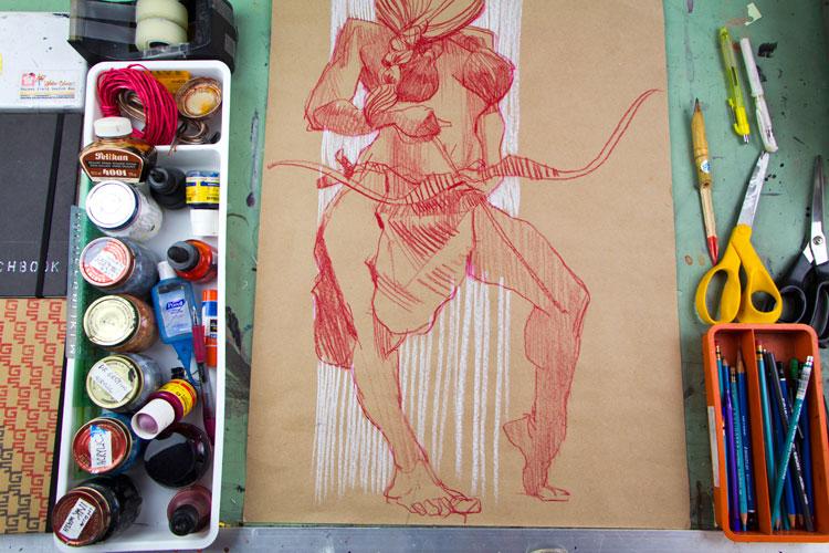 Christa-Graham Smith-warrior drawing.jpg
