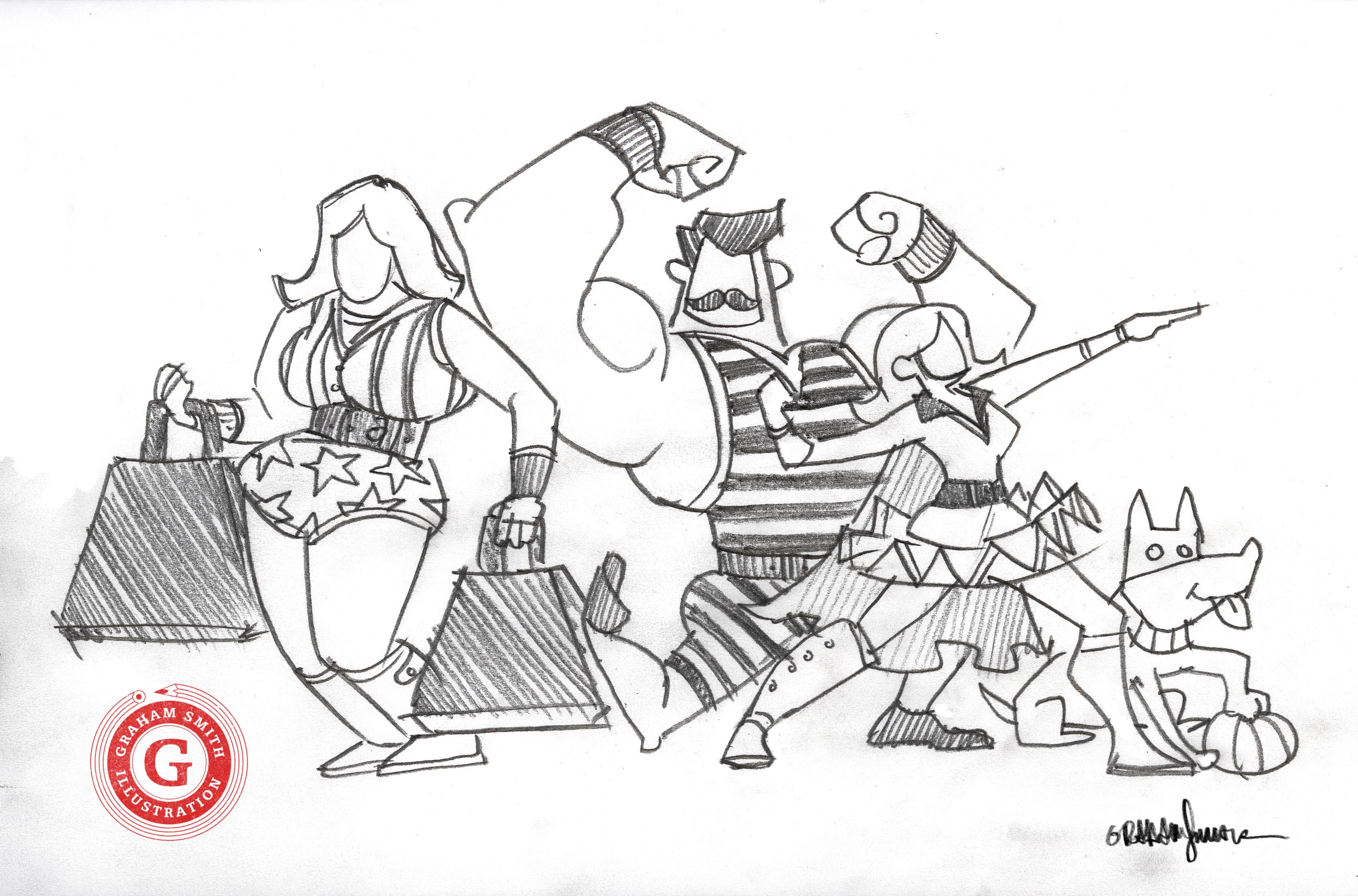 strongman sketch-00003- Graham Smith.